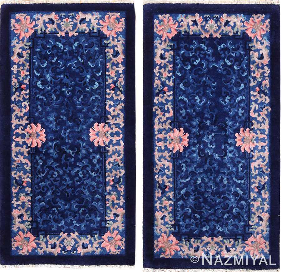 pair of antique chinese rugs 49241 Nazmiyal