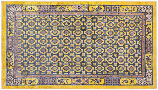Antique Silk Chinese Rug, Nazmiyal