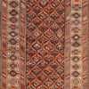 antique shirvan caucasian rug runner 49259 Nazmiyal