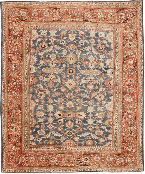 Antique Sultanabad Persian Rug, Nazmiyal