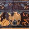 antique taupe background chinese rug 49235 yinyang Nazmiyal