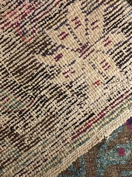 Backside of Mystery Rug, Nazmiyal Collection