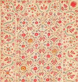 early 19th century suzani uzbek textile 49254 Nazmiyal