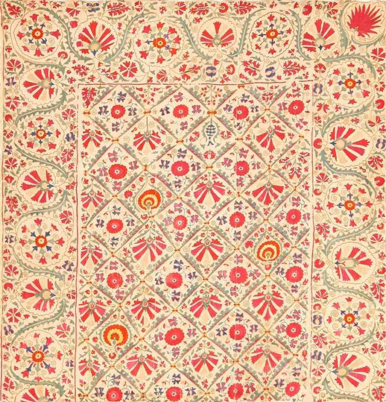 early 19th century suzani uzbek textile 49254 Nazmiyal