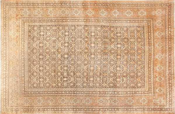 Fine and Decorative Antique Persian Tabriz Rug, Nazmiyal