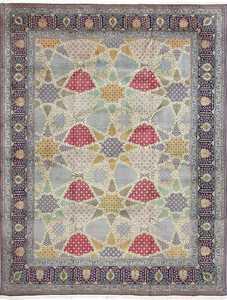 fine vintage tabriz persian rug 51077 Nazmiyal
