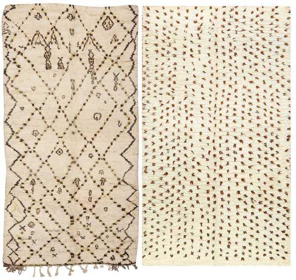 Vintage Moroccan Rugs, Interior Designer Heather Moore, Nazmiyal Collection