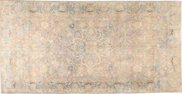 Large Antique Fine Persian Kerman Rug, Nazmiyal