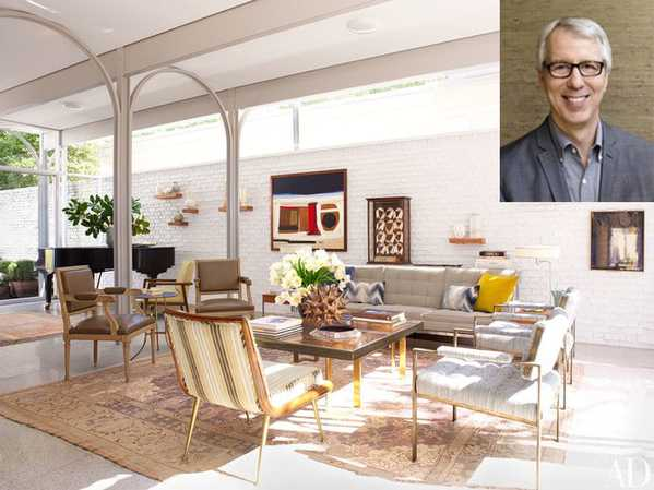 Lee Ledbetter's New Orleans Home Featuring Nazmiyal Antique Rugs