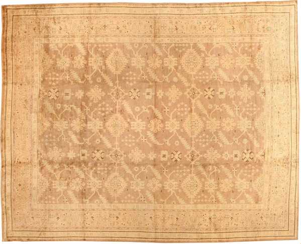 Antique Turkish Oushak Rug, Nazmiyal