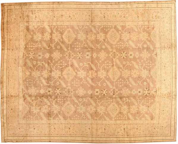 Antique Turkish Oushak Rug, Nazmiyal
