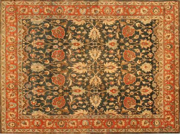 Antique Persian Tabriz Rug, Nazmiyal