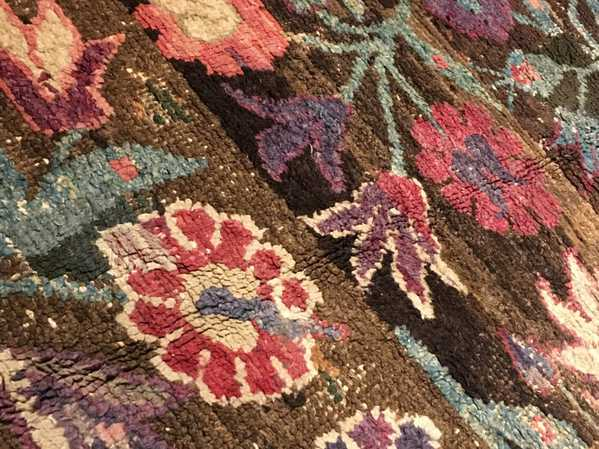 The Poppies of our Mystery Rug! Nazmiyal!