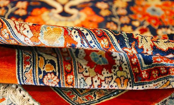 Tabriz Persian Silk Luxury Rugs by nazmiyal