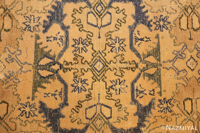 17th century cuenca spanish rug 49270 blue Nazmiyal