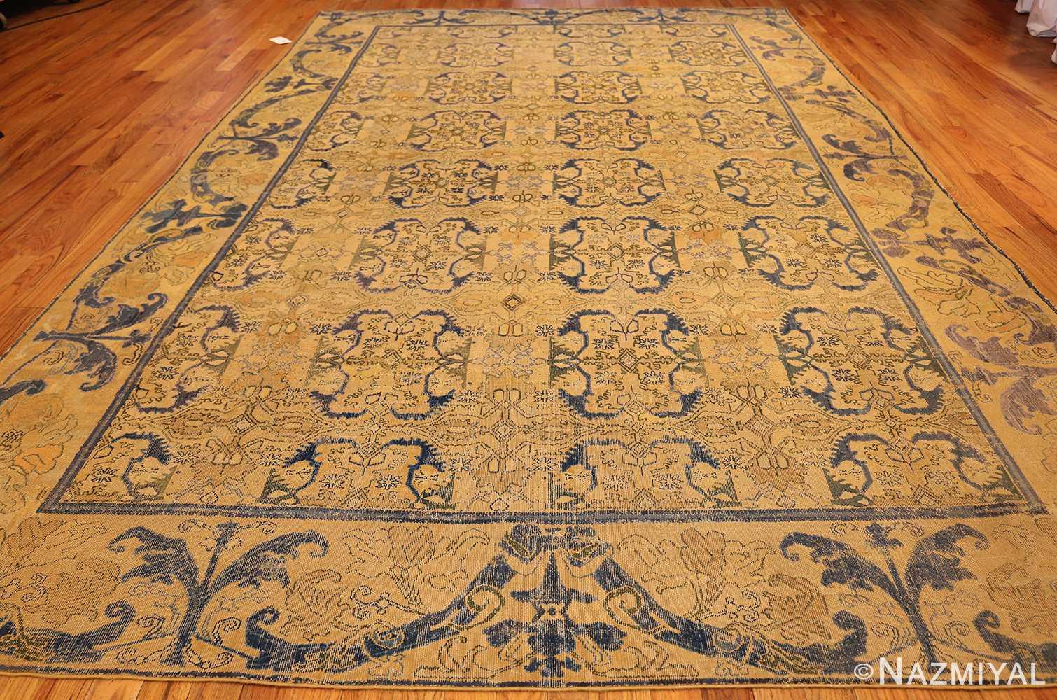 17th century cuenca spanish rug 49270 full Nazmiyal