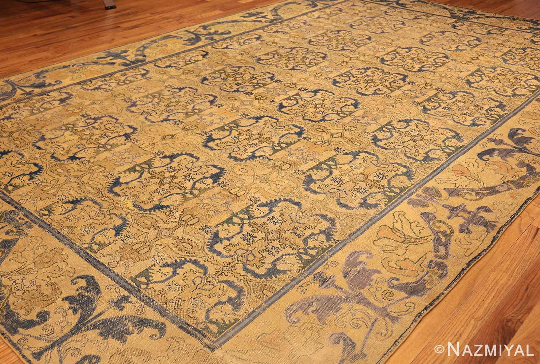 17th century cuenca spanish rug 49270 side Nazmiyal