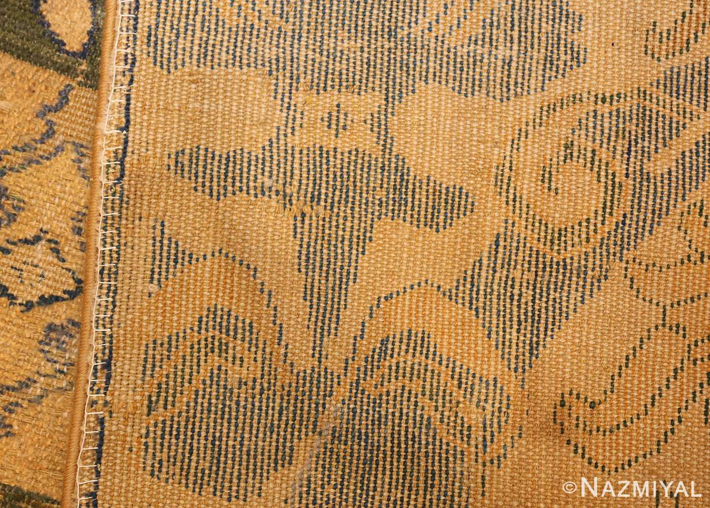 17th century cuenca spanish rug 49270 weave Nazmiyal