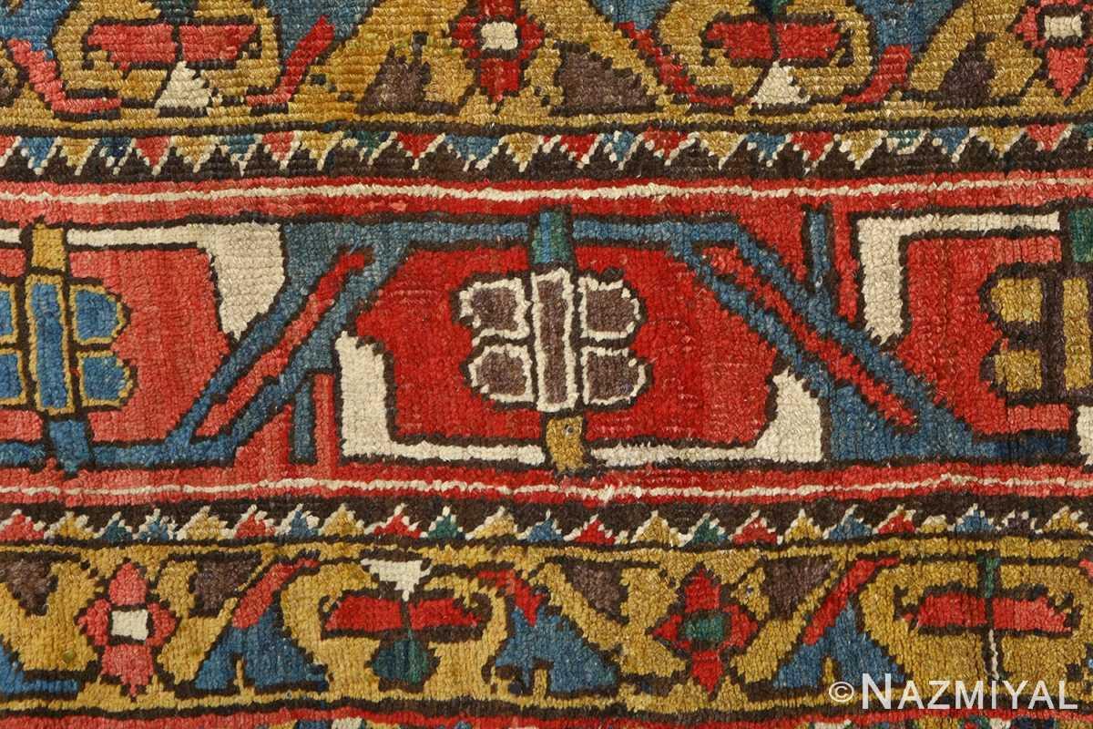 antique bakhtiari persian rug 51065 border Nazmiyal