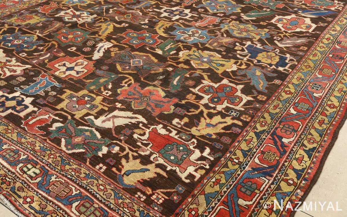 antique bakhtiari persian rug 51065 field Nazmiyal