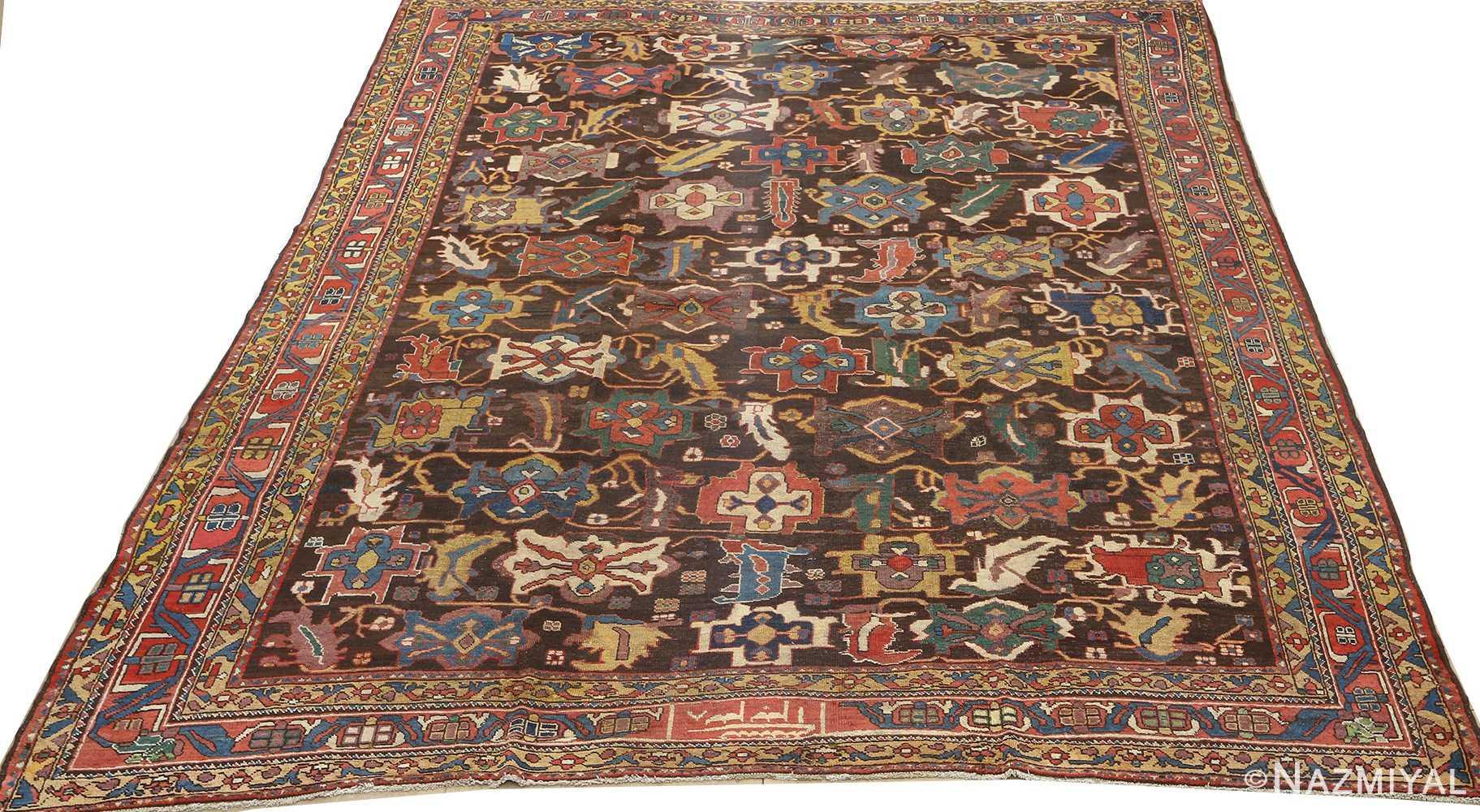 antique bakhtiari persian rug 51065 full Nazmiyal