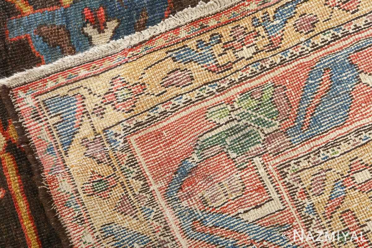 antique floral bakhtiari persian rug 51065 weave Nazmiyal