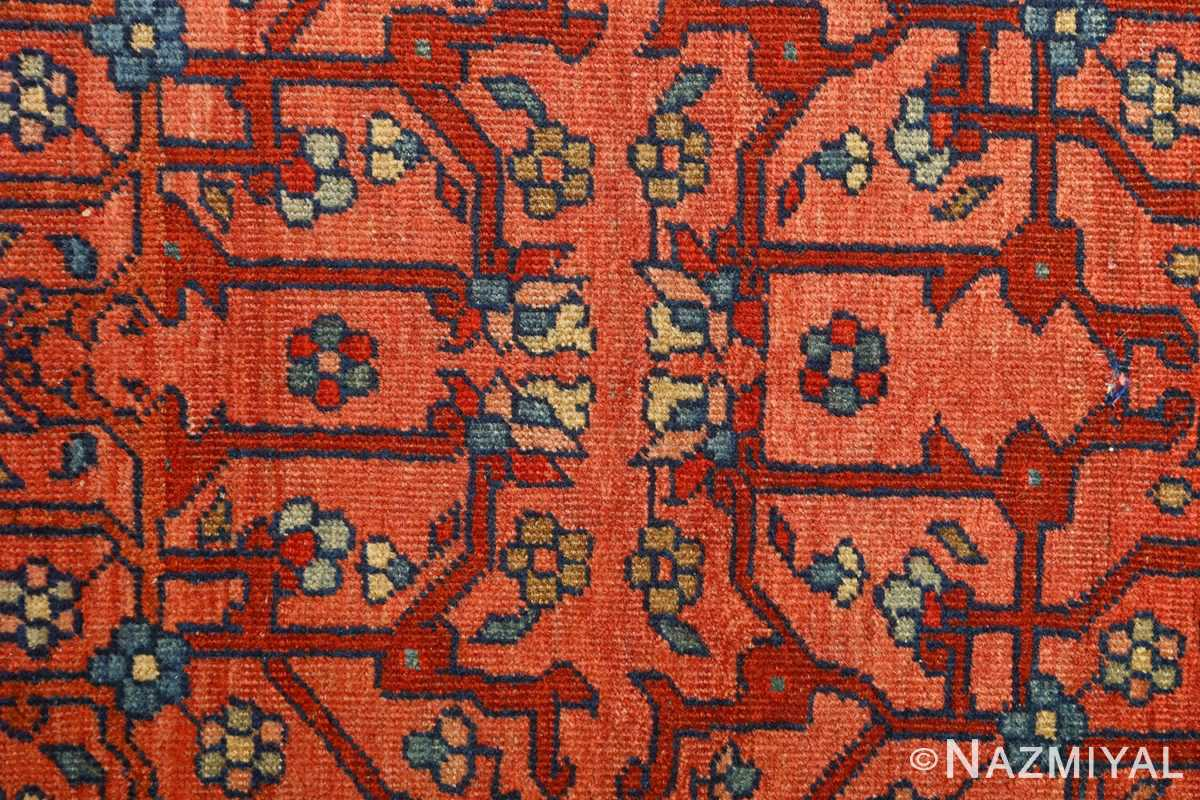 antique ivory background sarouk farhan persian rug 51094 center Nazmiyal