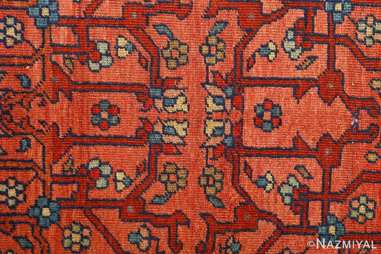 antique ivory background sarouk farhan persian rug 51094 center Nazmiyal