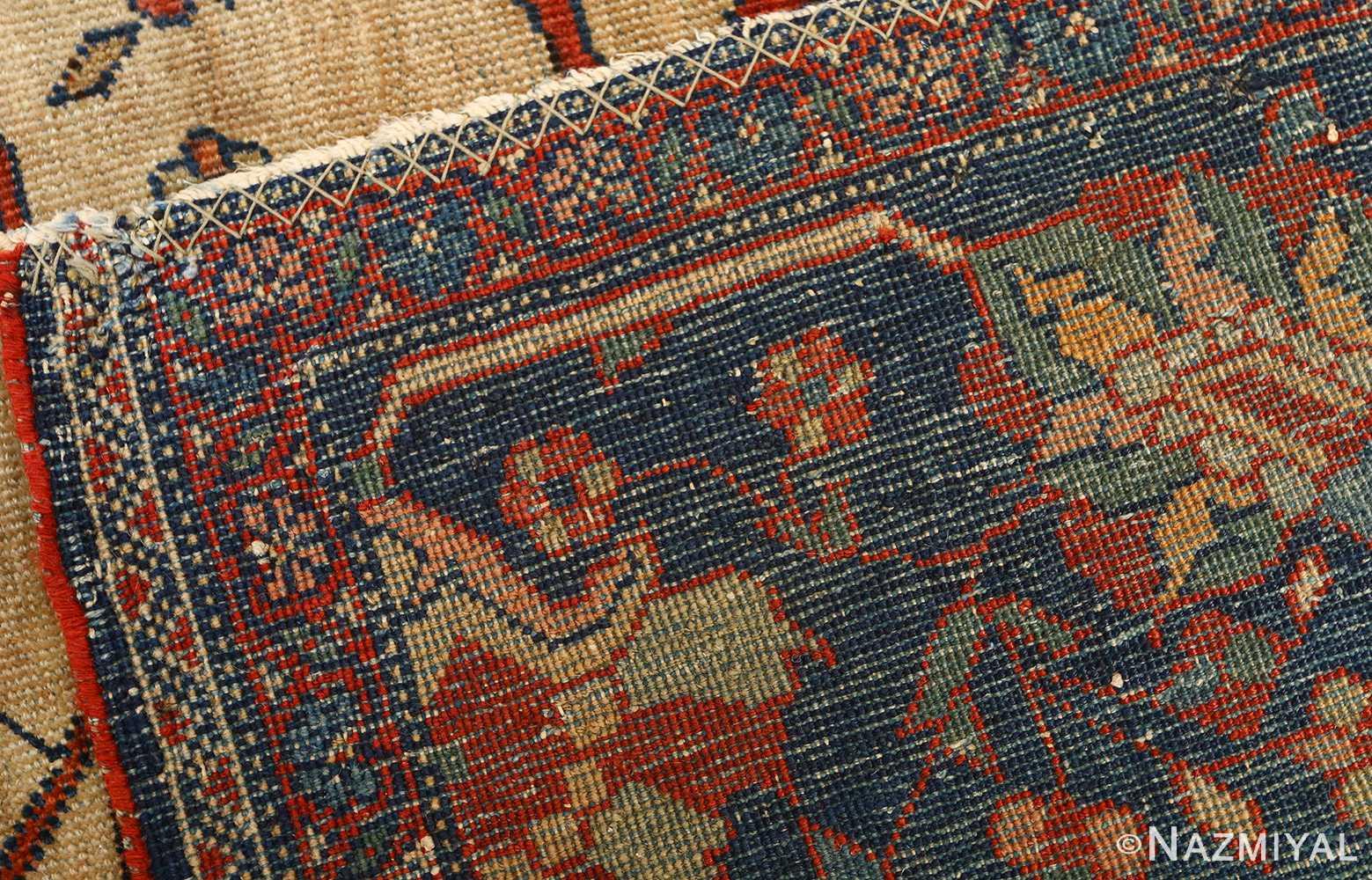 antique ivory background sarouk farhan persian rug 51094 weave Nazmiyal