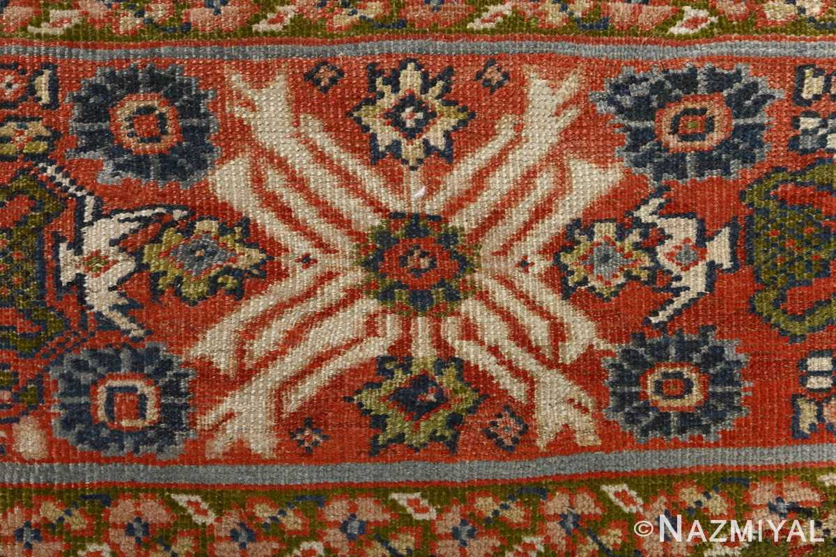 antique ivory background sultanabad persian rug 51101 blue Nazmiyal