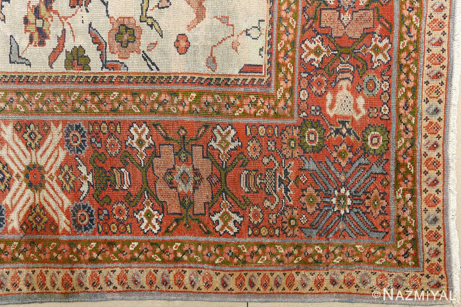 Beautiful Antique Sultanabad Persian Rug 51101 By Nazmiyal