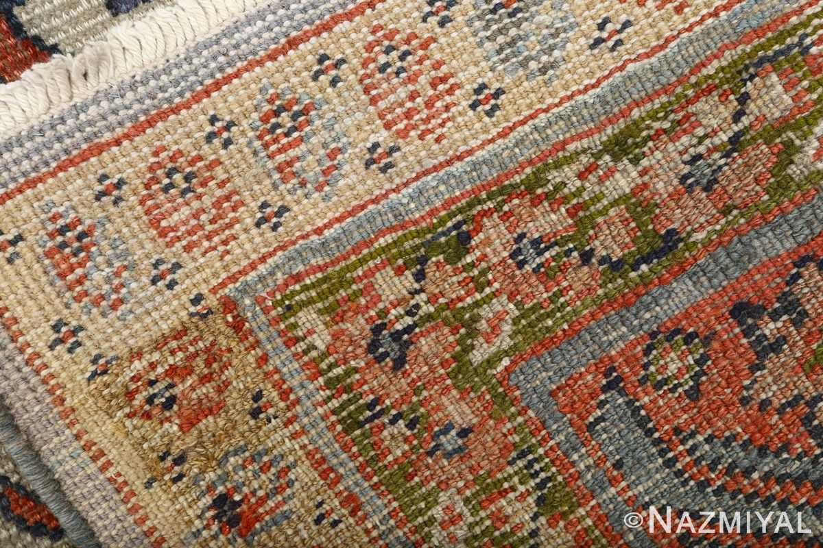 antique ivory background sultanabad persian rug 51101 weave Nazmiyal