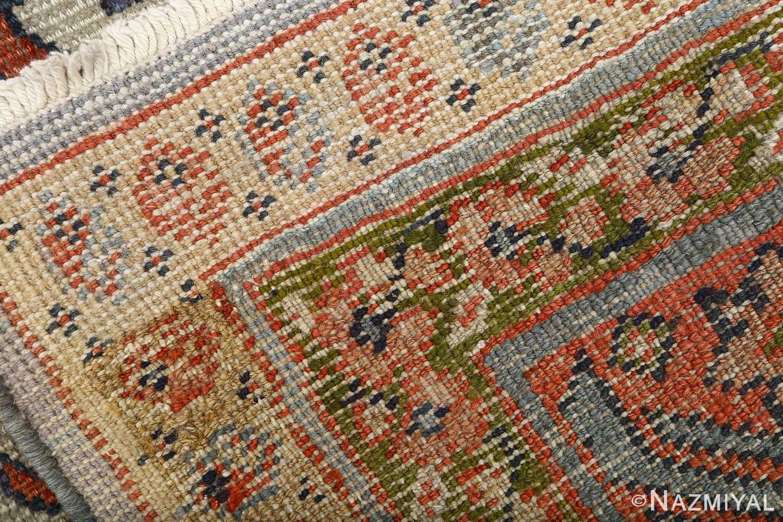 antique ivory background sultanabad persian rug 51101 weave Nazmiyal
