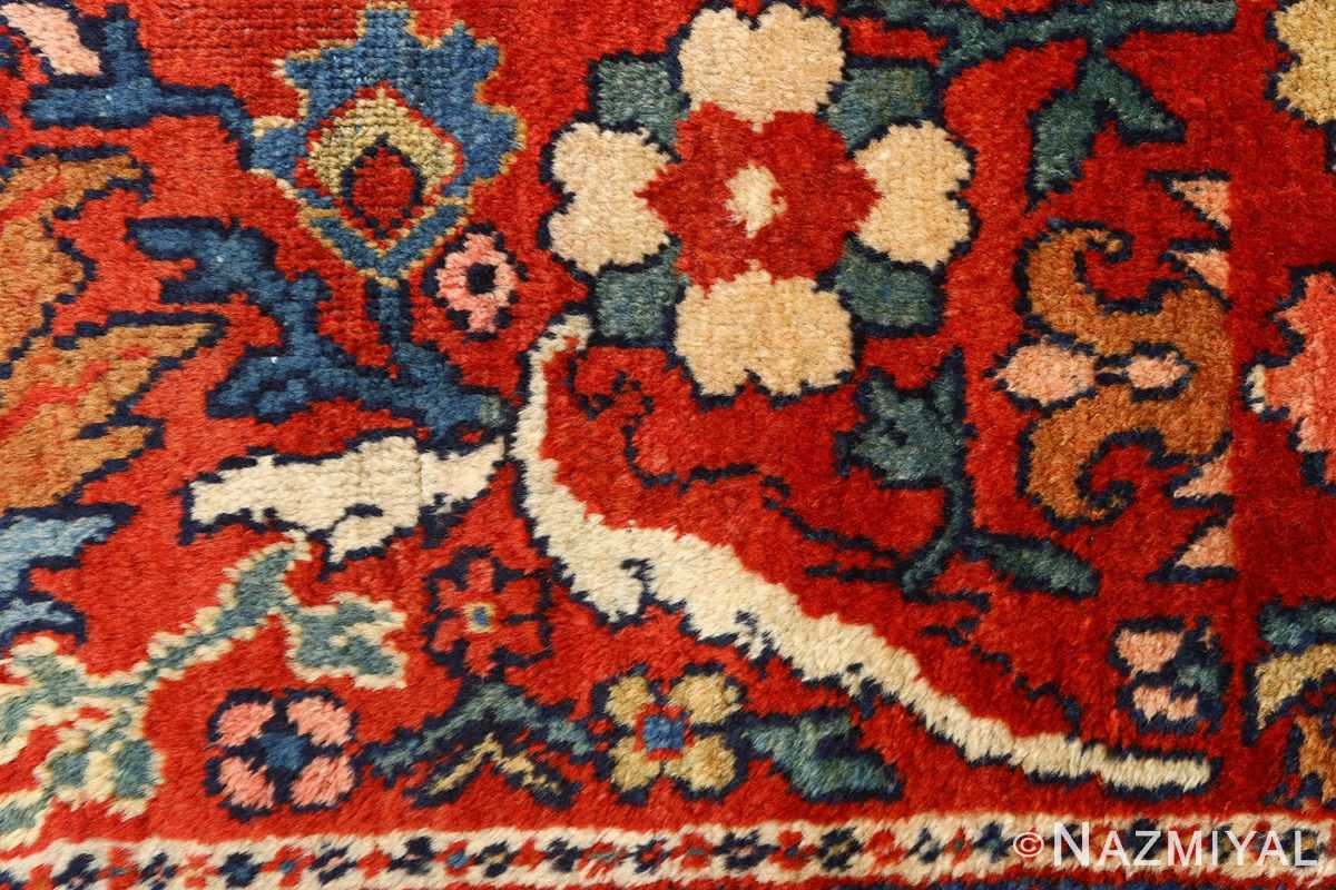 antique navy malayer persian rug 51096 border Nazmiyal
