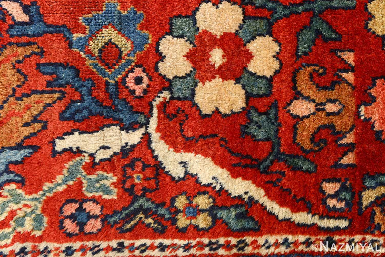 antique navy malayer persian rug 51096 border Nazmiyal