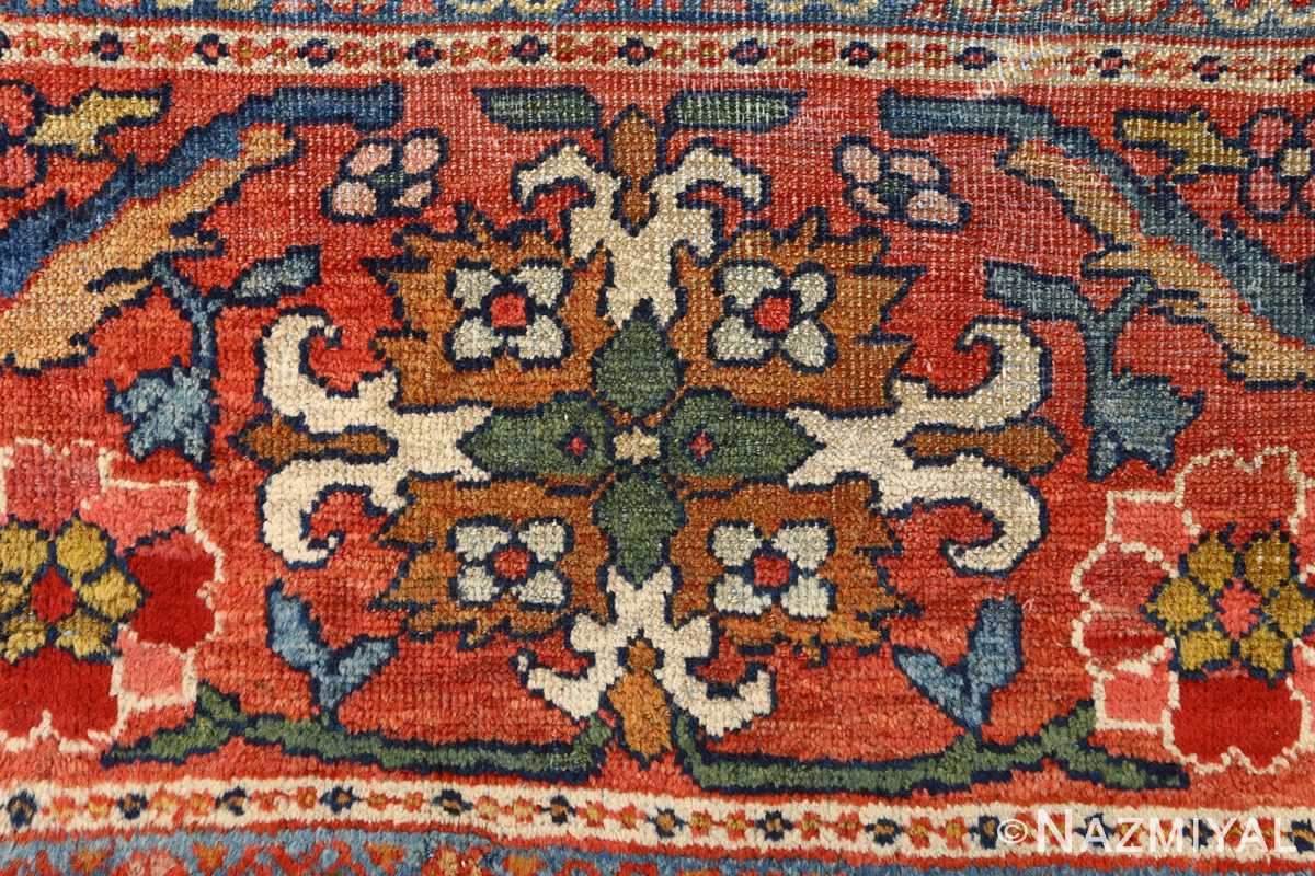 antique navy malayer persian rug 51096 design Nazmiyal