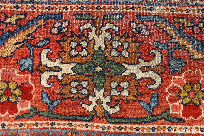 antique navy malayer persian rug 51096 design Nazmiyal