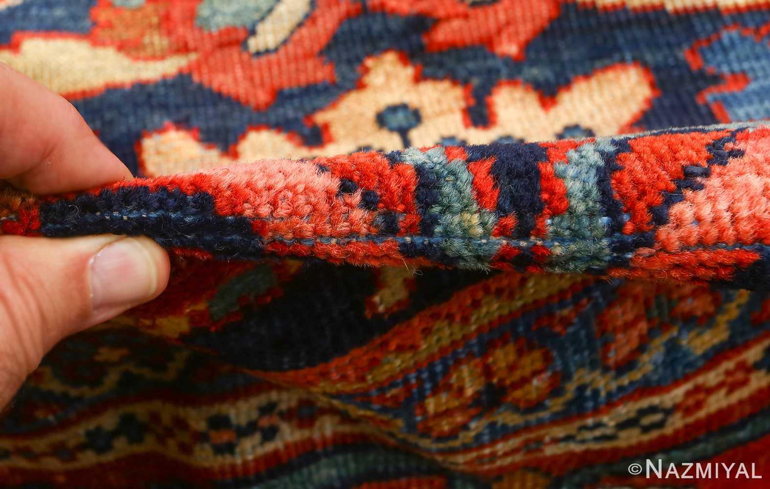 antique navy malayer persian rug 51096 pile Nazmiyal