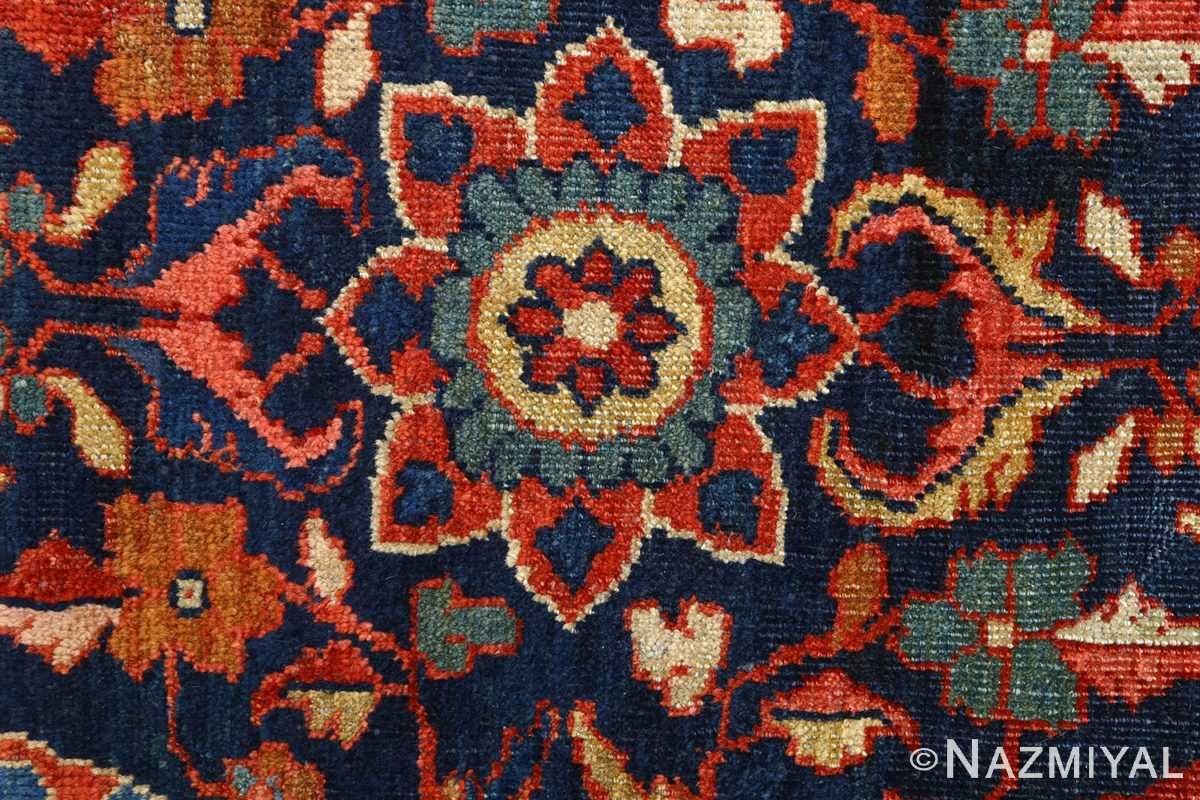 antique navy malayer persian rug 51096 top Nazmiyal