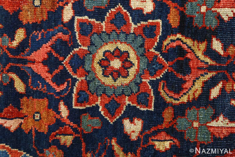antique navy malayer persian rug 51096 top Nazmiyal