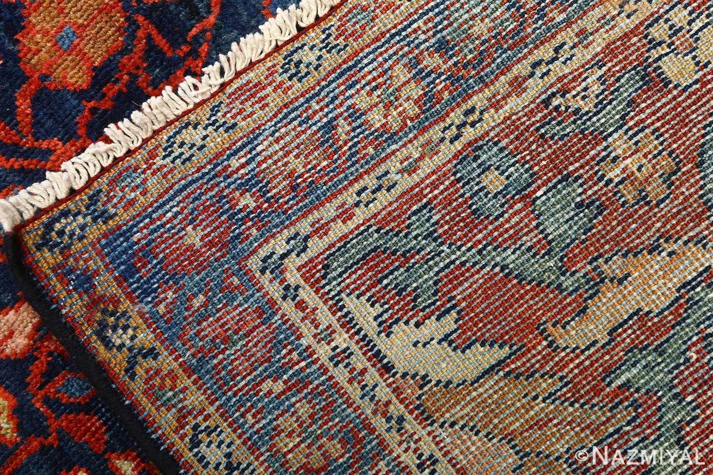 antique navy malayer persian rug 51096 weave Nazmiyal
