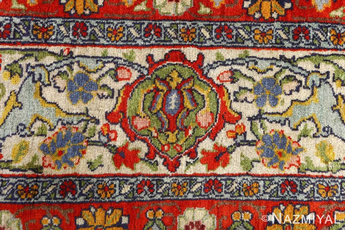 antique prayer design tabriz persian rug 51111 border Nazmiyal