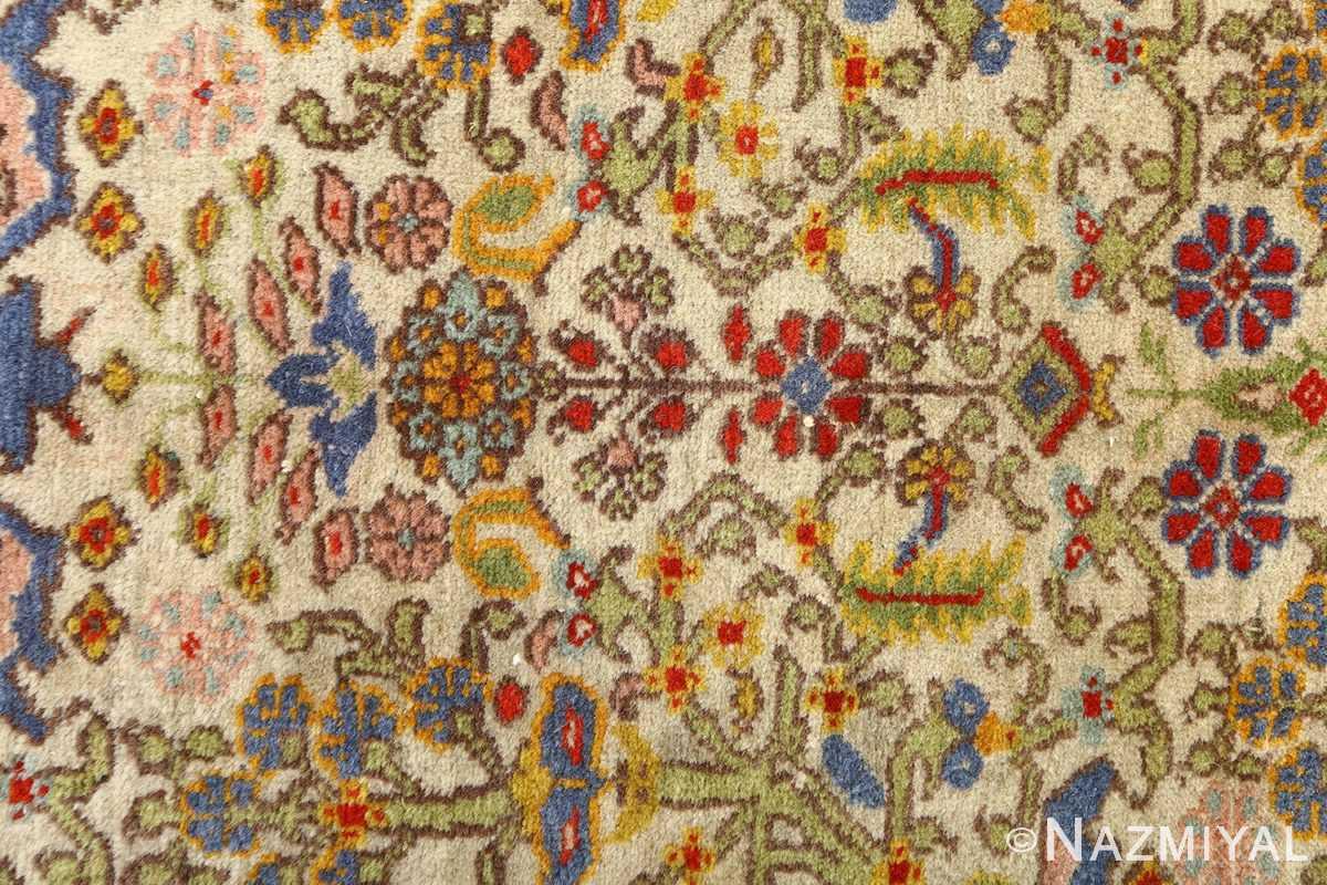 antique prayer design tabriz persian rug 51111 field Nazmiyal