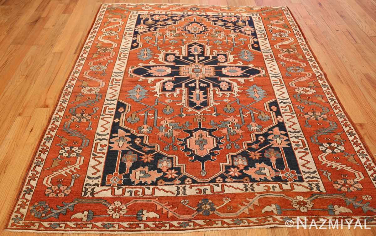 antique serapi persian rug 49273 full Nazmiyal