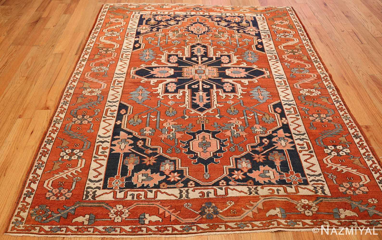 antique serapi persian rug 49273 full Nazmiyal