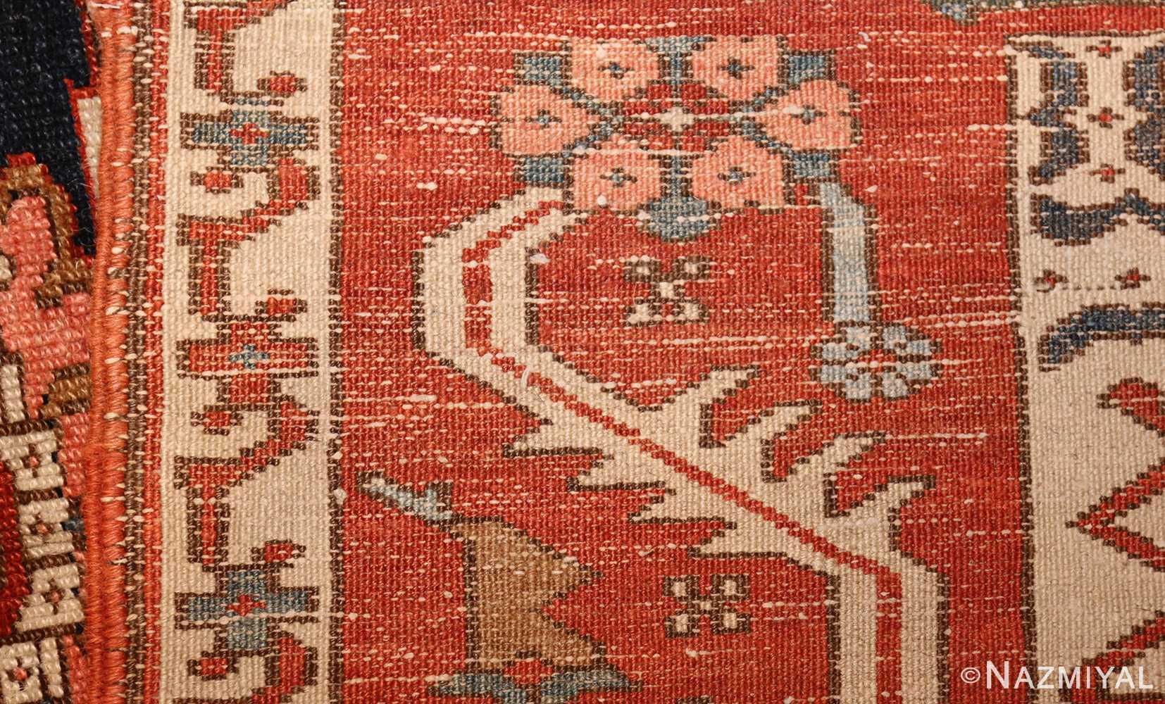 antique serapi persian rug 49273 weave Nazmiyal