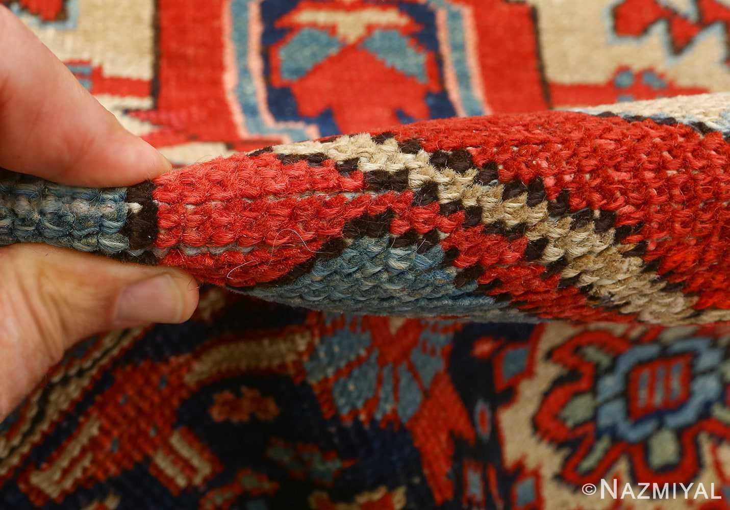 antique serapi persian rug 51093 pile Nazmiyal
