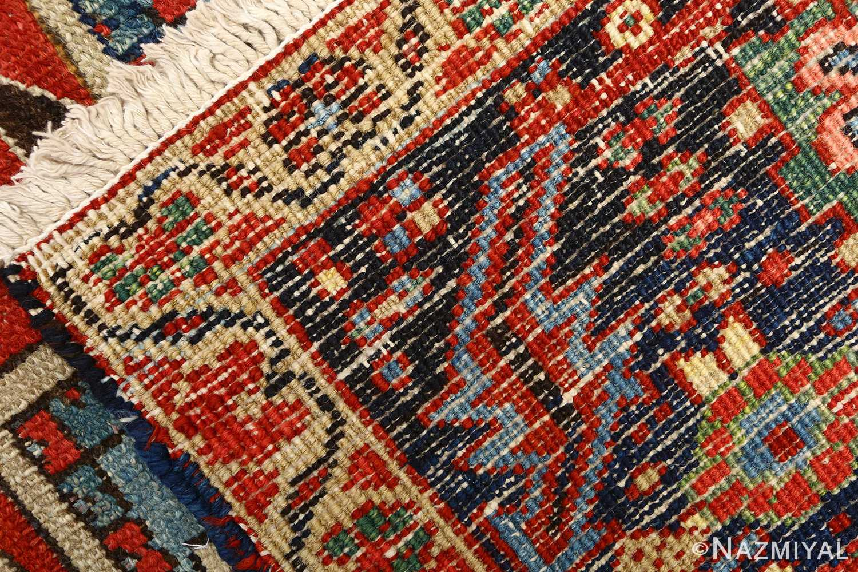 antique serapi persian rug 51093 weave Nazmiyal