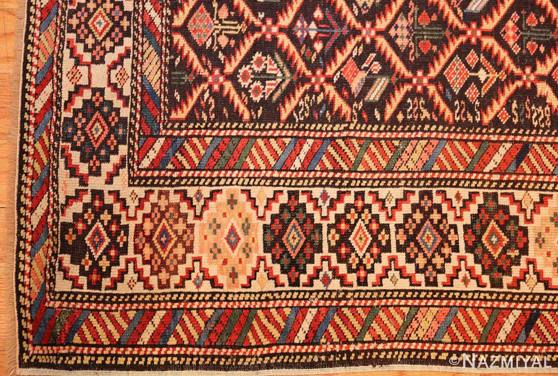 antique shirvan caucasian rug runner 49259 corner Nazmiyal