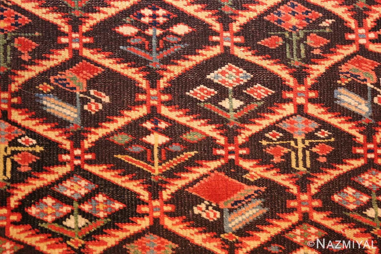 antique shirvan caucasian rug runner 49259 field Nazmiyal